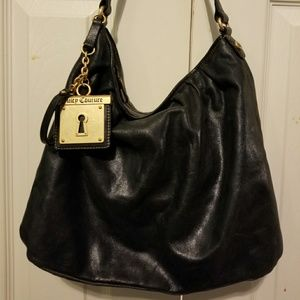 Leather Juicy Couture hand bag